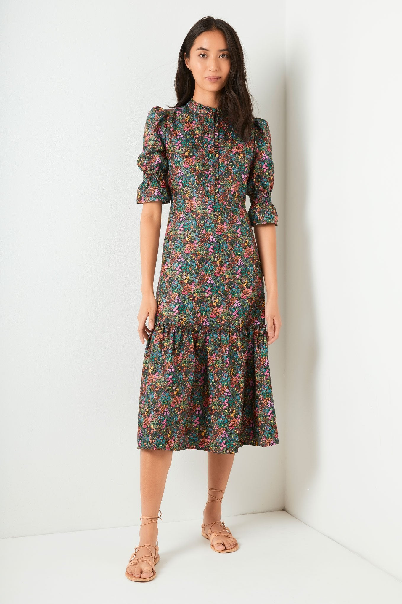 Sophie Dress - Dark Ditsy