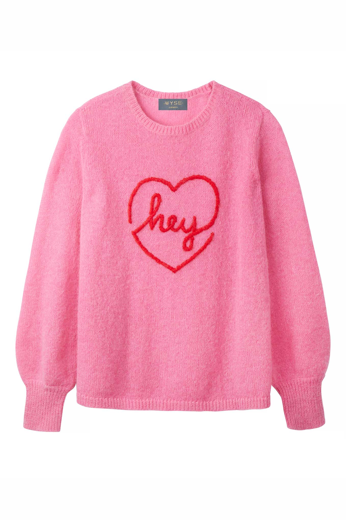Hey Heart - Pink