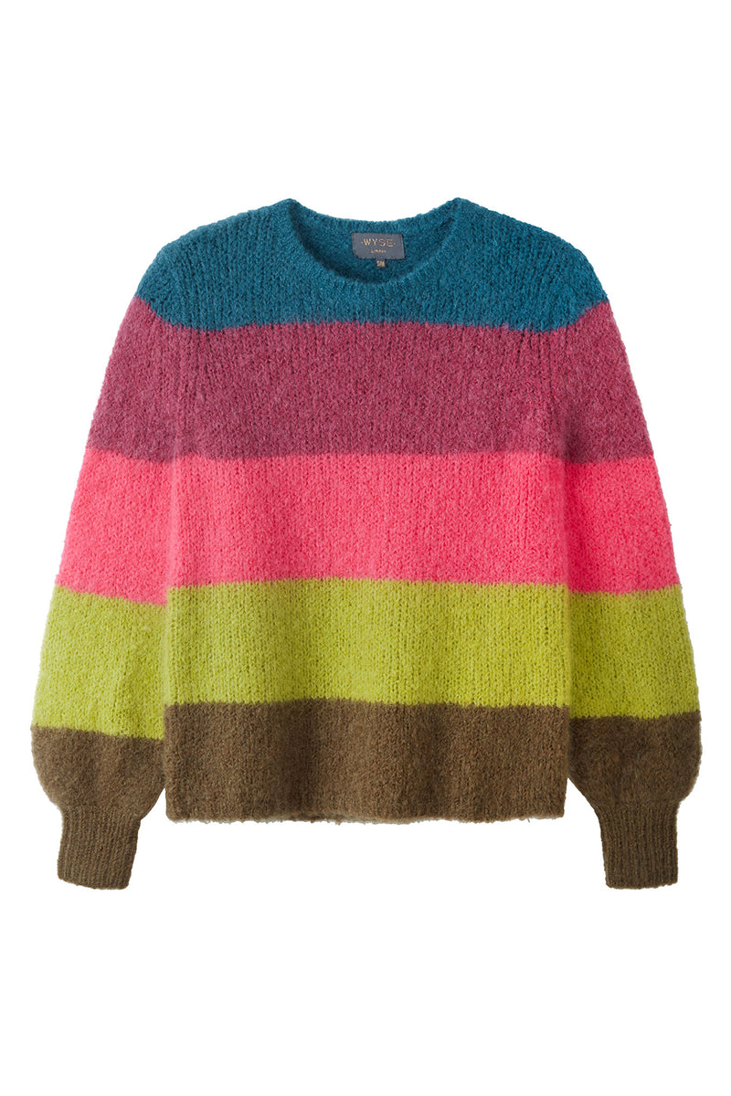 Molly Block Stripe - Multi