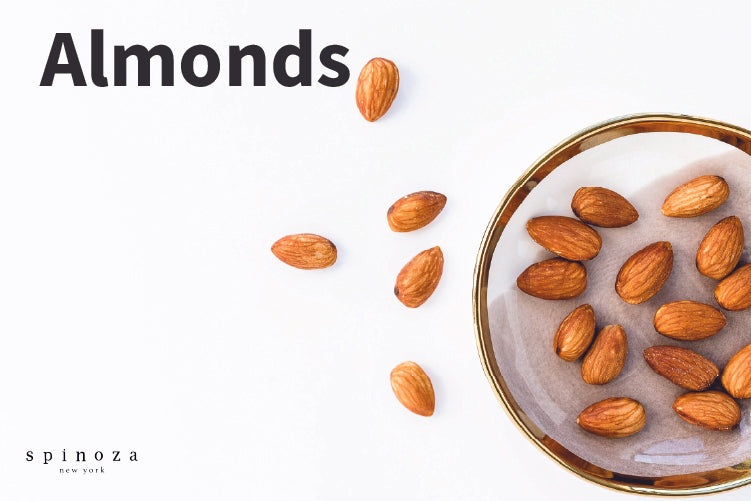 Photo of almonds a healthy eye food