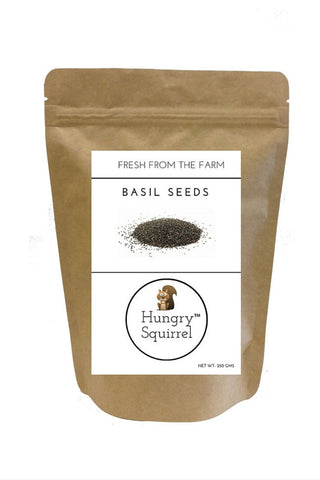 Basil Seeds : 250 gms - HungrySquirrel