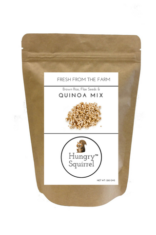 Brown Rice, Flax & Quinoa Mix - HungrySquirrel