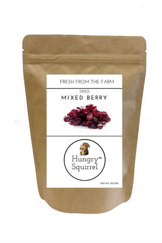 Dried Mixed Berry : 150 gms - HungrySquirrel