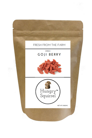 Dried Goji Berry : 150 gms - HungrySquirrel