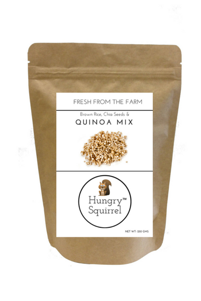 Brown Rice, Chia & Quinoa Mix - HungrySquirrel