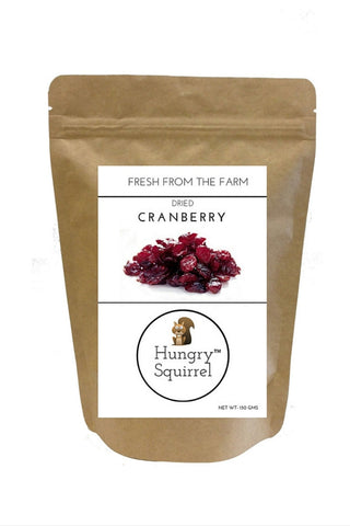 Dried Cranberry : 150 gms - HungrySquirrel