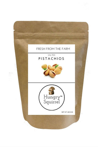 Salted Pistachios : 250 gms - HungrySquirrel