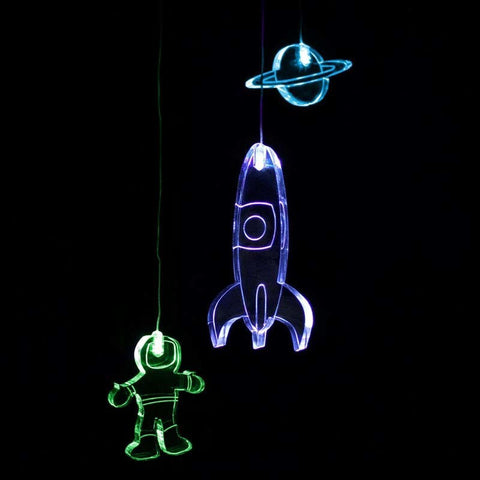 LED Baby Mobile Spaceman