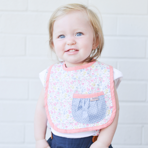 Daisy Pocket Bib