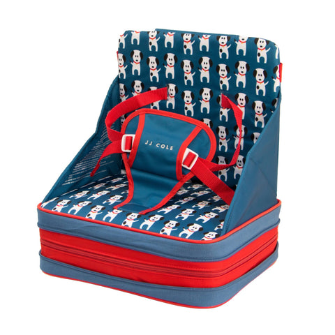 JJ Cole Toddler Booster Feeding Seat - Fire Dogs