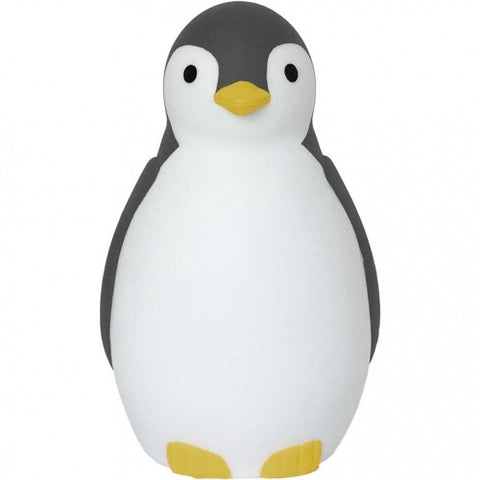 Pam the Penguin Sleeptrainer & Nightlight with Bluetooth Grey