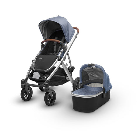 2017 Uppababy Vista with Bassinet and Leather Henry