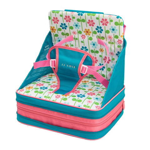 JJ Cole Toddler Booster Feeding Seat - Summer Garden