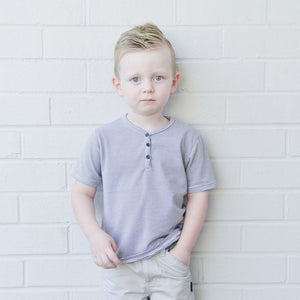 Boys Stripe Hugh Hamptons Tee Love Henry