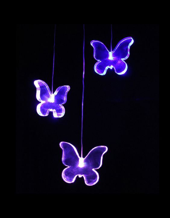 LED Butterfly Baby Mobile