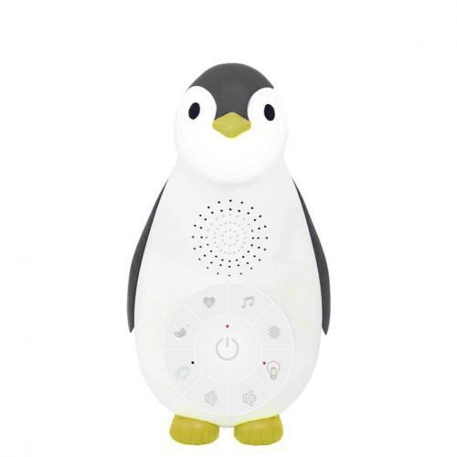 Zoe The Penguin Bluetooth Nightlight with Music Grey