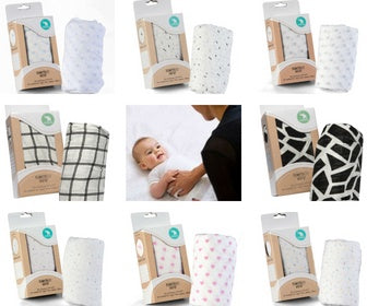 All 4 Ella Bamboo Wrap Swaddle Single