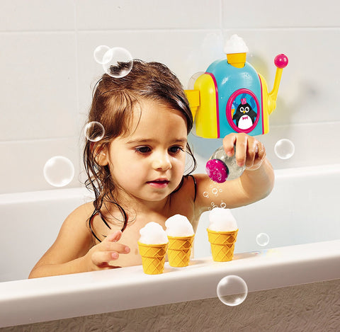 Tomy Foam Cone Factory Toddler Bath Toy