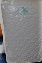 Double Quilted Deluxe Cot Mattress 1300 x 690 x 115mm