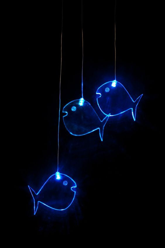 LED Fish Baby Mobile