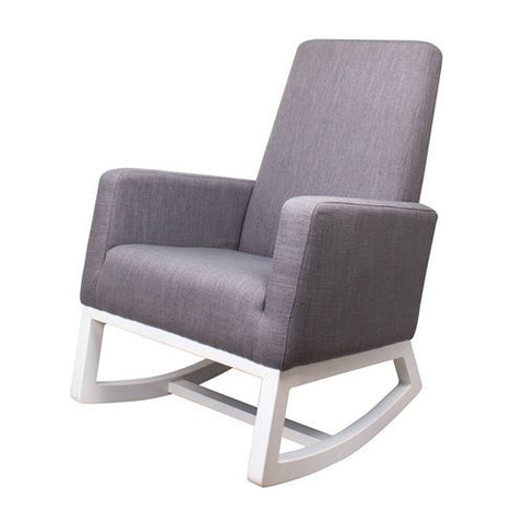 Grey Fabric Rocking Chair Beaux Rocking Chair