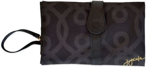 Nappy Change Clutch Wallet JJ Cole Black & Gold