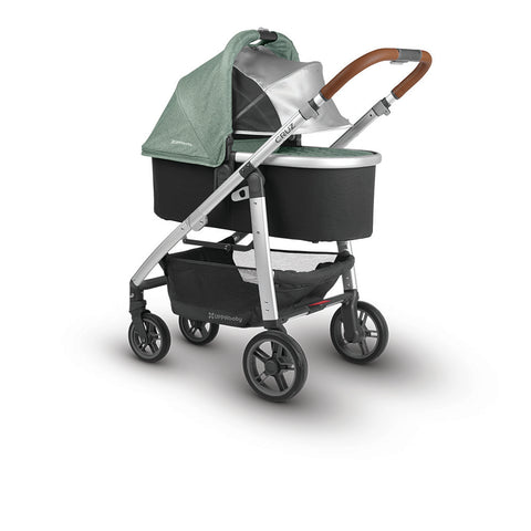 UPPAbaby 2018 Cruz Green Melange Emmett with bassinet