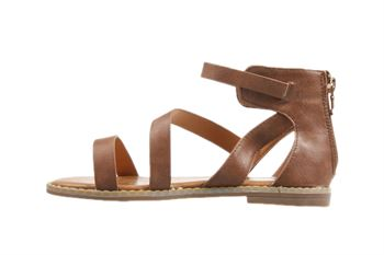 Girls Youth Bellissimo Marcia Tan Sandal Strappy