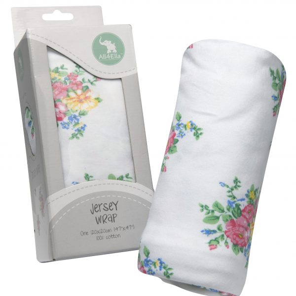 All4Ella Jersey Wrap Swaddle Single
