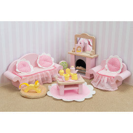 Le Toy Van Daisy Lane Wooden Doll's Sitting Room Set