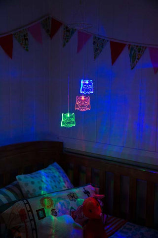 LED BABY MOBILE - Owl