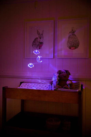 LED BABY MOBILE - Moon & Cloud