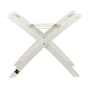 White Timber Moses Basket Stand