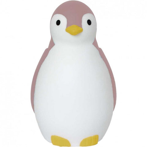 Pam the Penguin Sleeptrainer & Nightlight with Bluetooth Pink