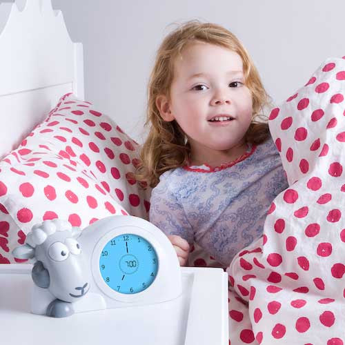 Zazu Sam the Sheep Toddler Sleep Trainer & Nightlight