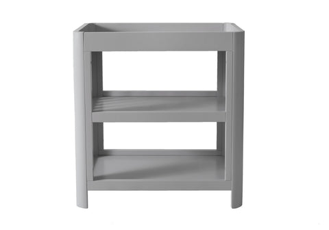 Grey 2 Tier Baby Change Table Troll Sun Soft Grey