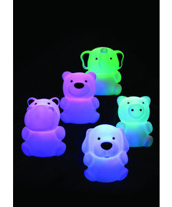 Rechargeable Zoo Animals Night Light