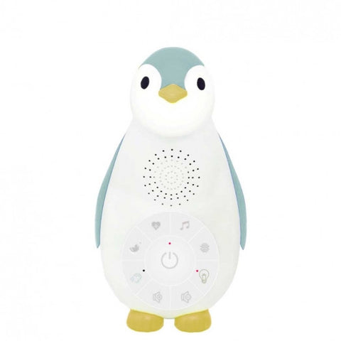Zoe The Penguin Bluetooth Nightlight with Music Blue