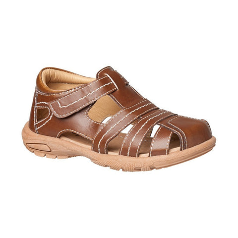 Boys Brown Sandal - Fitz