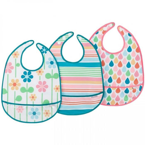 Bib Set 3pk Summer Graden