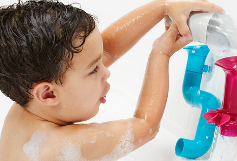 Toddler Building Water Toy