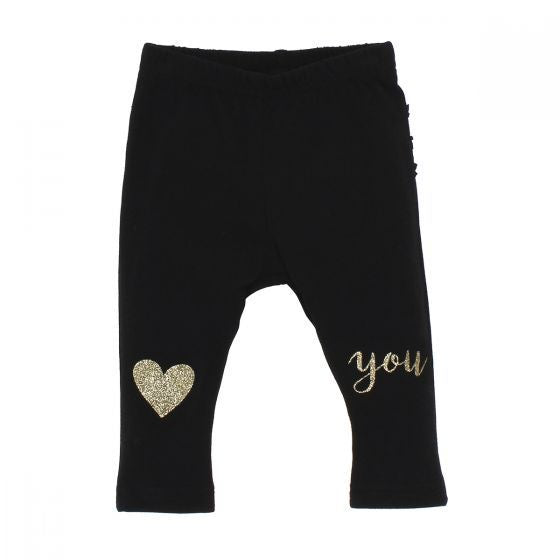 Baby Girls Galaxy Love U Leggings
