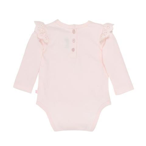Bunny Ruffle Sleeve Bodysuit cloud- Baby Girls