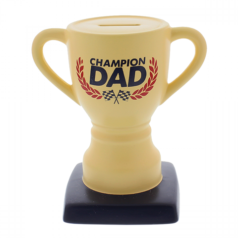Fathers Day Gift Champion Dad Money Box