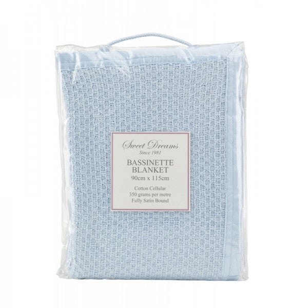 Bassinet Cellular Blanket
