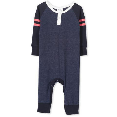 Baby Boys Rugby Romper