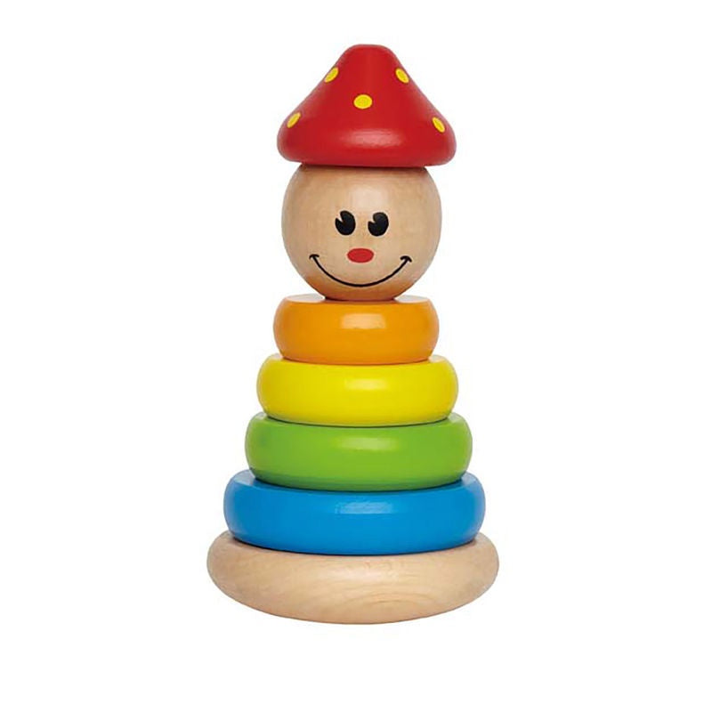 Wooden Stacking Toy Hape Clown