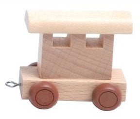 Wooden Alphabet Train Carriage Kids Name Train