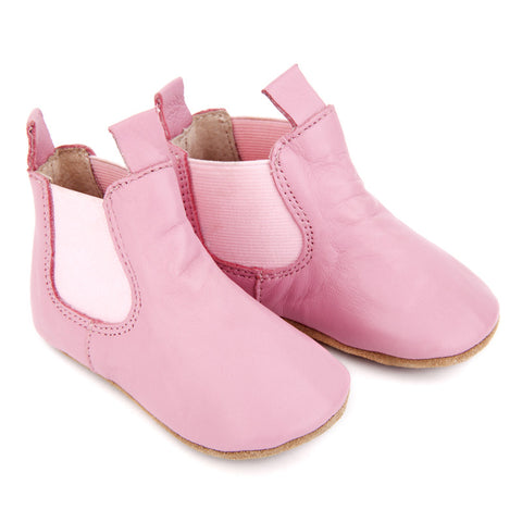 Skeanie - Infant Pre Walker Riding Boots - Pink