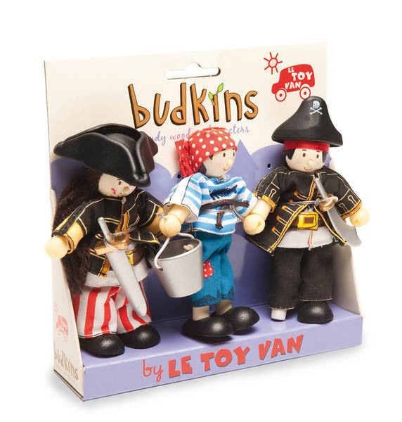 Le Toy Van Triple Pack Pirate Dolls